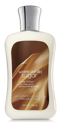 warm vanilla bath and body works