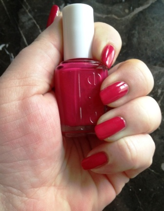 Essie Haute In The Heat Swatch