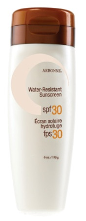 Arbonne Water Resistant Sunscreen SPF 30