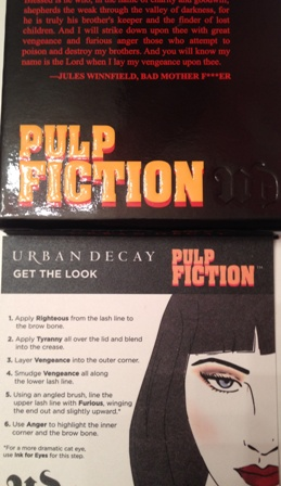 Urban Decay Pulp Fiction Palette Box