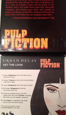 Urban Decay Pulp Fiction Palette Box