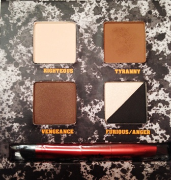 Urban Decay Pulp Fiction Palette Shades