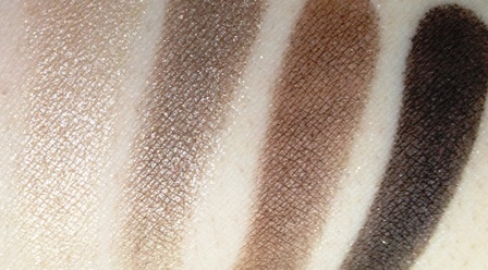 L'Oreal Colour Riche Eyeshadow Quad Absolute Taupe Swatch