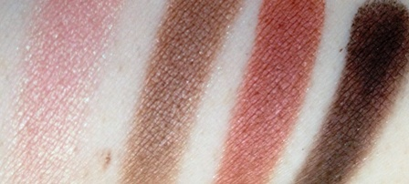 L'Oreal Colour Riche Eyeshadow Quad Rose Nude Swatch