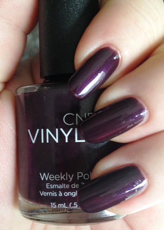 CND Vinylux Modern Folklore Plum Paisley Swatch