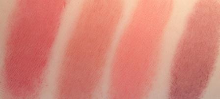 Clinique Chubby Stick Cheek Colour Balm Swatches