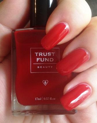 Trust Fund Beauty I Love My #Selfie Swatch