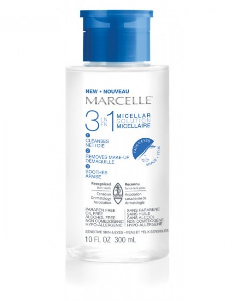 marcelle cleansing water