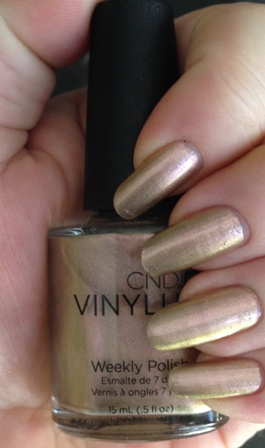 CND Vinylux Grand Gala Swatch - 3 Coats