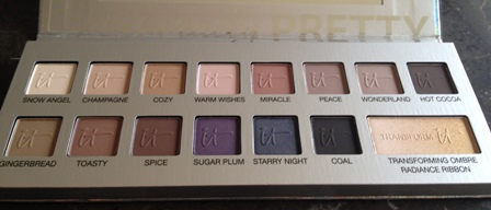 IT Cosmetics Naturally Pretty Celebration Matte Luxe Transforming Eyeshadow Palette