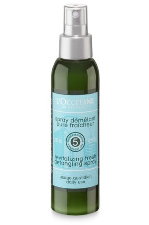 Revitalizing fresh detangling spray+