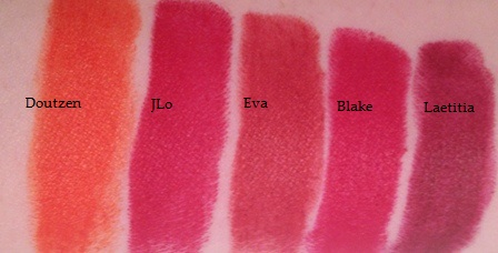 L'Oreal Pure Red Lipstick Swatches