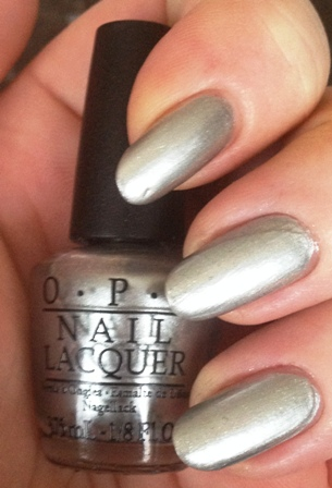 OPI My Silk Tie Swatch