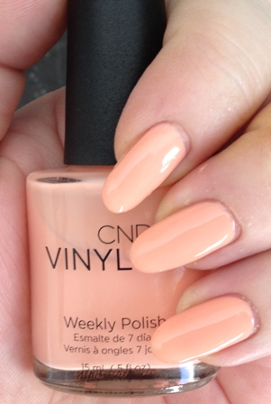 CND Vinylux Salmon Run Swatch