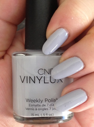 CND Vinylux Thistle Thicket Swatch - Lavender Gray