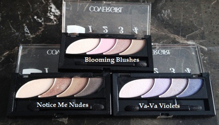 Cover Girl Bloom Shadow Quads