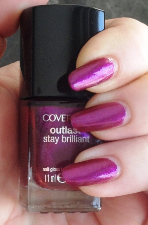 Cover Girl Fuchsia Flame Swatch