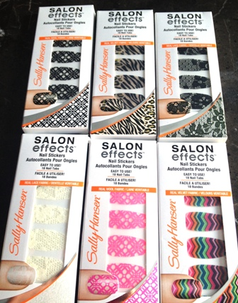 Sally Hansen Salon Effects Nail Stickers Spring 15 Makeup Most Wanted