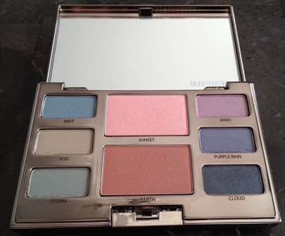 Laura Mercier Watercolour Mist Eye And Cheek Palette