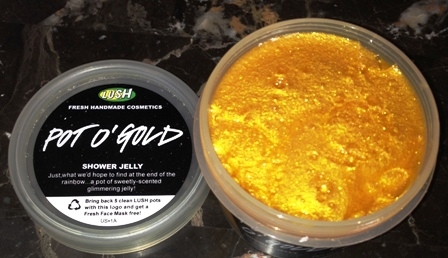 Lush Pot O'Gold Shower Jelly