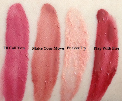 Rimmel Provocalips Swatches