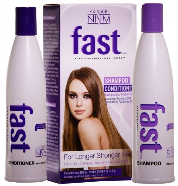 nisim fast shampoo and conditioner