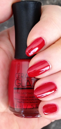 Ceramic Glaze Russian Rouge Swatch
