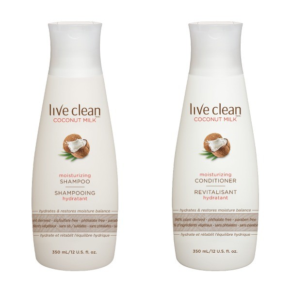 live clean coconut shampoo