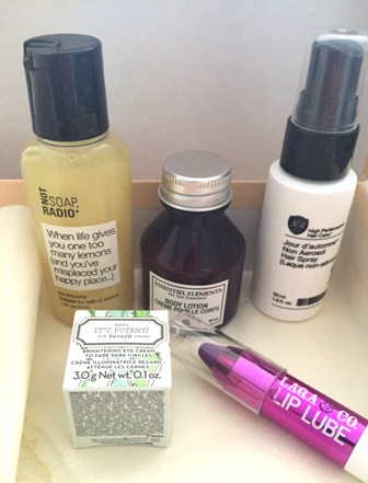 Birchbox May 2015 Contents