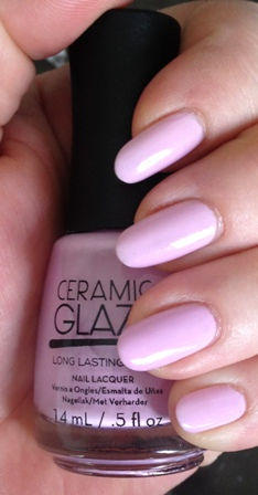 Ceramic Glaze Lavender Fields Forever Swatch