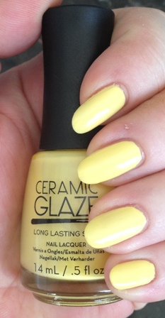 Ceramic Glaze Pineapple Breeze Swatch