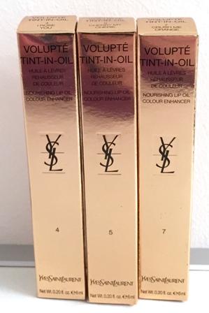 YSL Volupte Tint-In-Oil Box