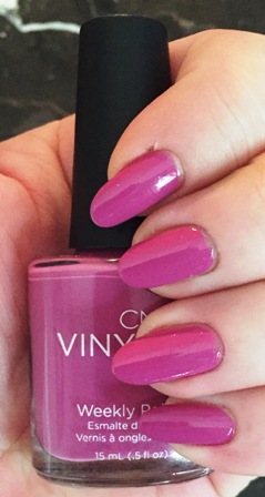 CND Vinylux Crushed Rose Swatch