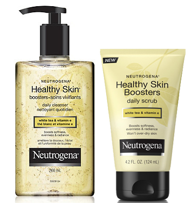 Neutrogena Healthy Skin Boosters Cleansers copy