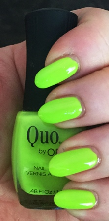 Quo By Orly Adrenaline Swatch