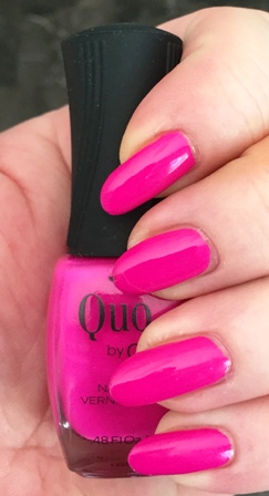 Quo By Orly Hype Swatch 1 Coat