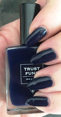 Trust Fund Beauty Got Yacht Swatch - one coat