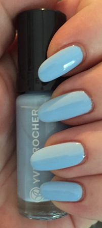 Yves Rocher Aqua Blue Swatch