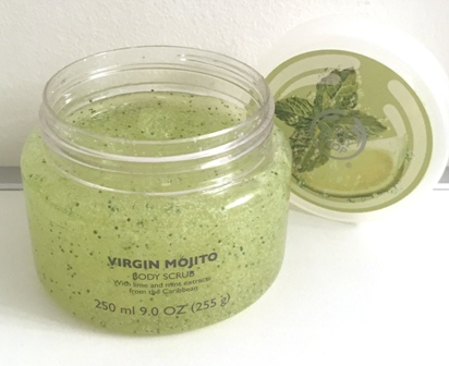 Body Shop Virgin Mojito Body Scrub