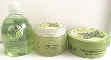 Body Shop Virgin Mojito Line