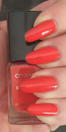 Cover Girl Fury Swatch