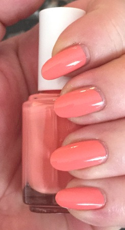 Essie Peach Side Babe Swatch