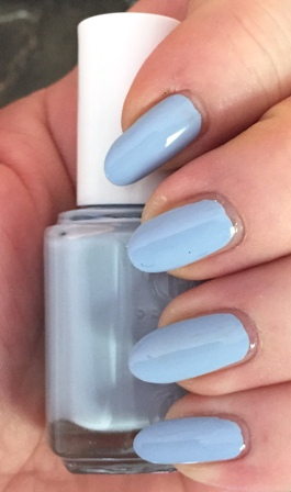 Essie Salt Water Happy Swatch - one coat