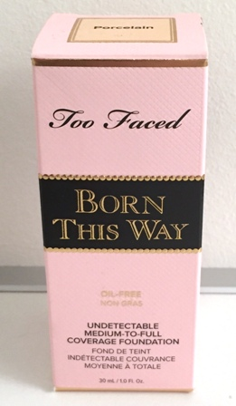 Too Faced Born This Way Foundation Box