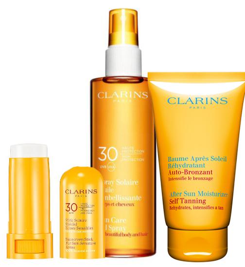 clarins sun oil spray moisturizer sunscreen copy
