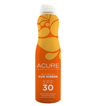 Acure SPF 30 Continuous Spray Sunscreen