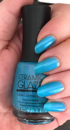 Ceramic Glaze Mermaid's Tale Swatch