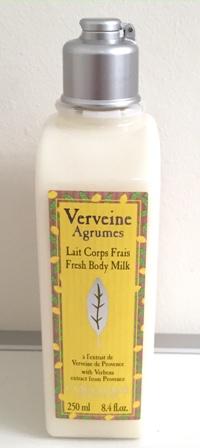 L'Occitane Citrus Verbena Body Milk