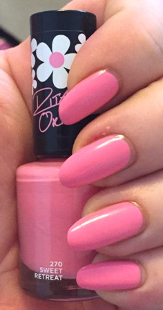 Rimmel Rita Ora Sweet Retreat Swatch