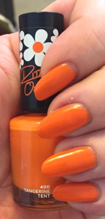 Rimmel Rita Ora Tangerine Tent Swatch